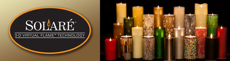 Solare 3D Flameless Candles