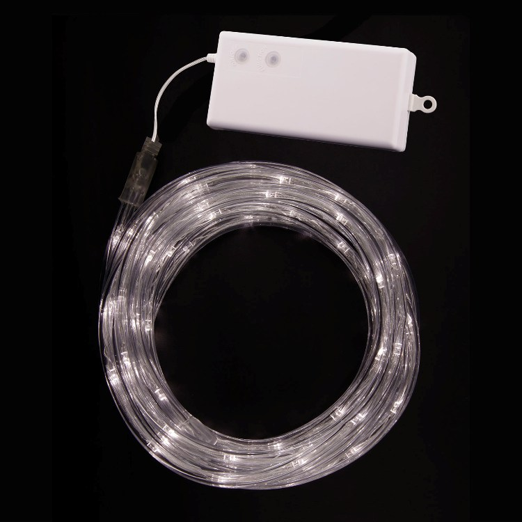 Battery operated rope lights tube lights warm white video aloadofball Gallery