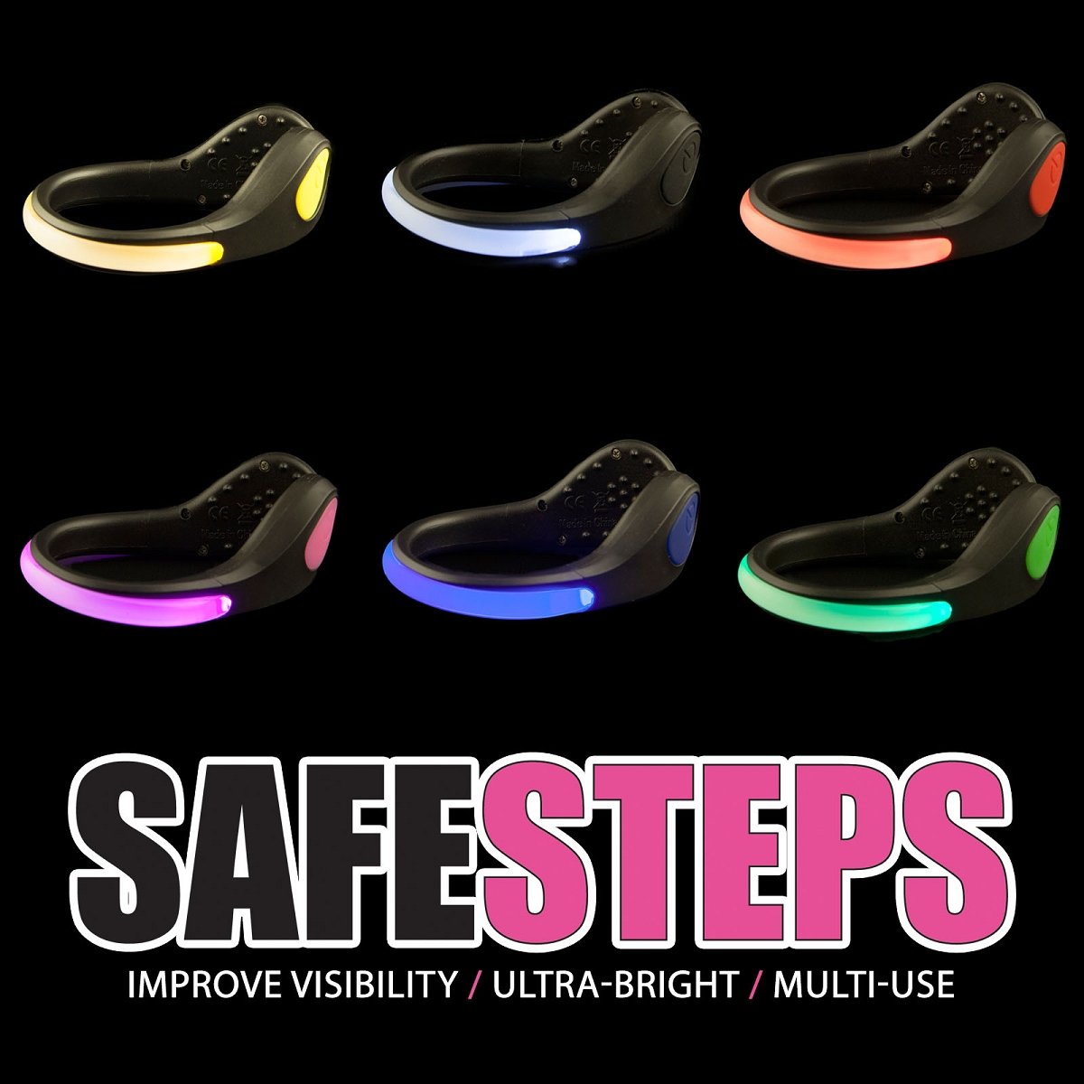 Light Safety Walking Shoes
