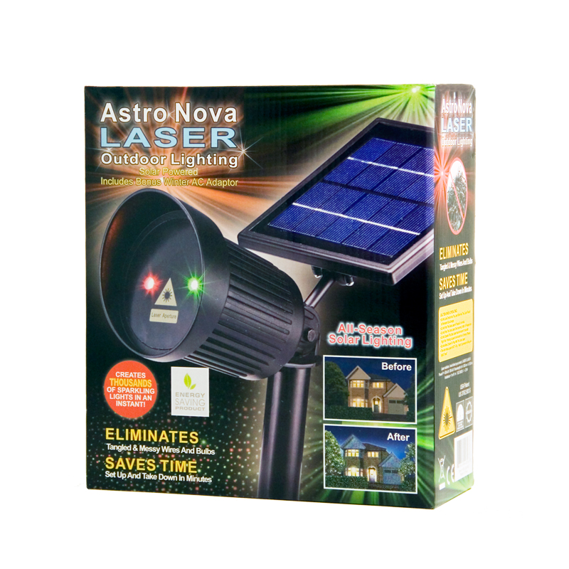 Astro nova laser red and green light outdoor lighting for Outdoor lighting packages
