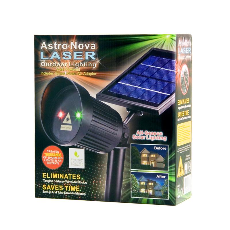 Astro nova laser red and green light outdoor lighting for Landscape lighting packages