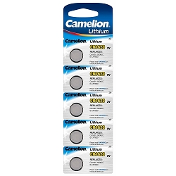 CR1620 3 Volt Lithium Button Cell Battery 5 Pack
