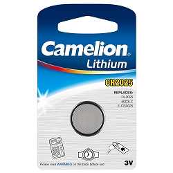 CR2025 3 Volt Lithium Button Cell Battery 1 Pack