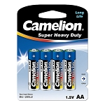 AA Super Heavy Duty Battery 4 Pack