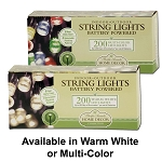 Battery Operated String Lights 200 LED