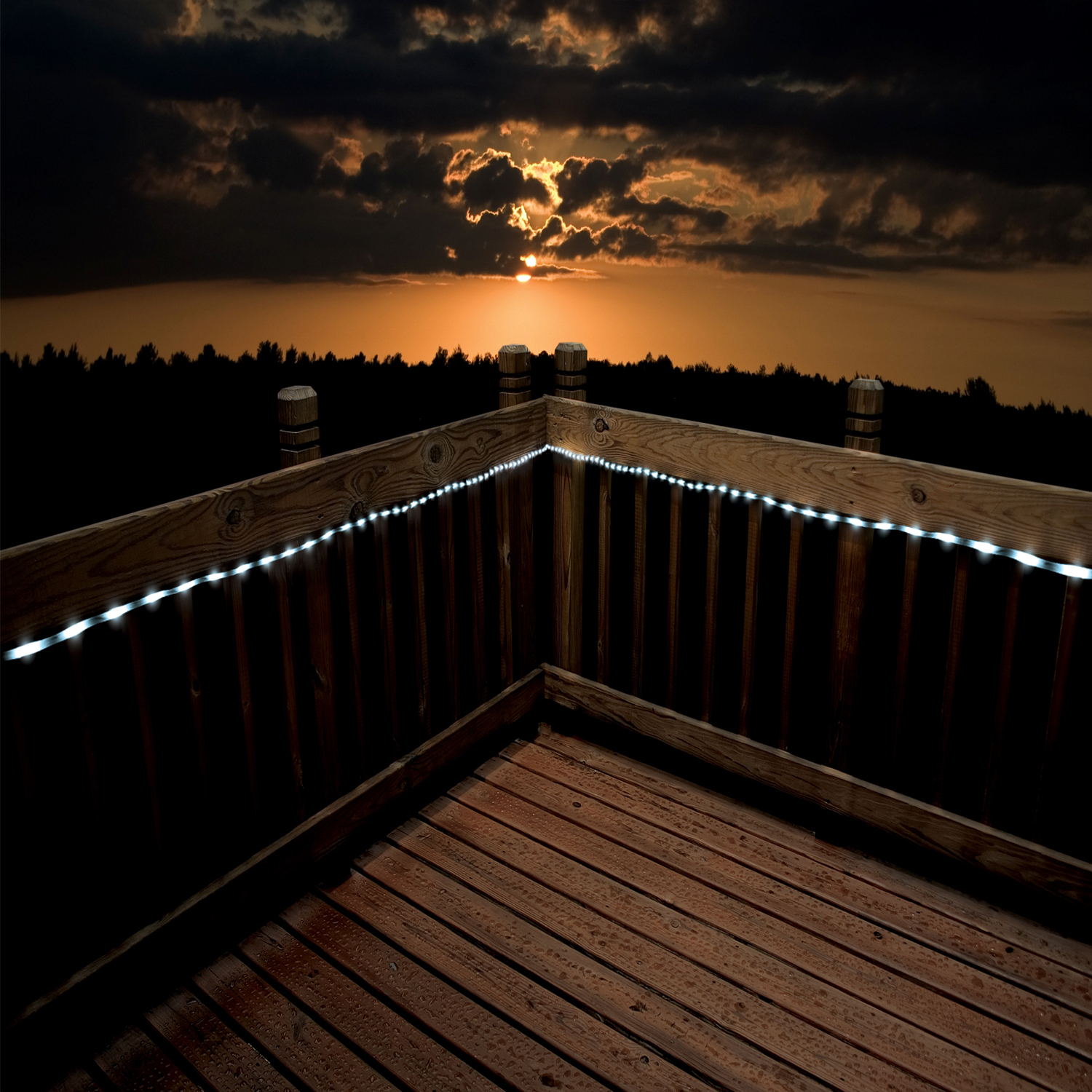 Solar rope lights 100 led by flipo shopflipo aloadofball Gallery