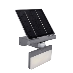 Pacific Accents  Solar Flood Light 100 LED Flood Light  600 Lumens