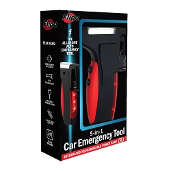 5-In-1 Emergency Car Tool - With Portable Power Bank