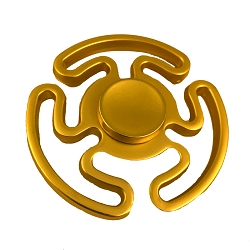 Collectable Gold Anchors Fidget Spinner- 3 sided