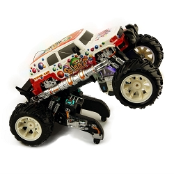 Flipo Bubble Truck RC Bubble Shooting Stunt Truck