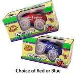 RC Stunt Car With LED Lights Red or Blue