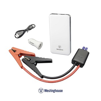 Pocket Size Jump Starter and Mobile Power Pack by Westinghouse
