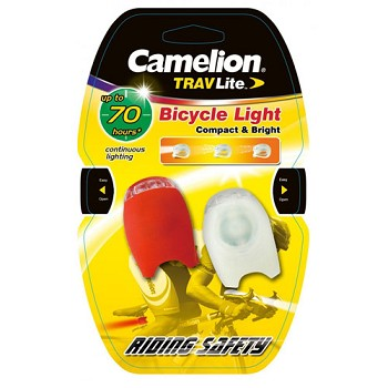 Silicone Bike Light Headlight and Taillight Set