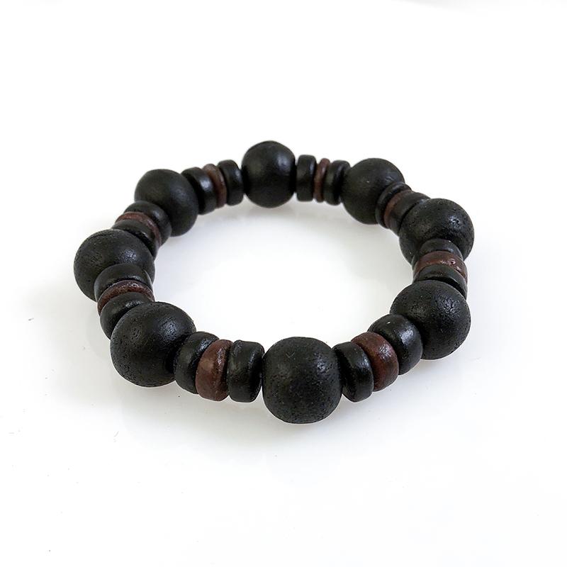Balinese Wooden Bead Bracelet 96 Pc Display
