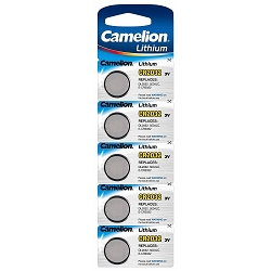 CR2032 3 Volt Lithium Button Cell Battery 5 Pack