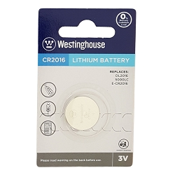 Westinghouse CR2016 Lithium Button Cell Battery