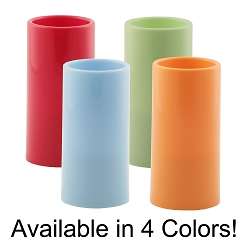 Flameless Colored Resin Pillar Candle