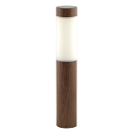 Solar Stake Light with Wood Grained Finish