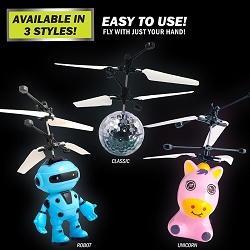 Cyber Flyer | With Infrared Controlled Technology - Available In Classic, Robot, & Unicorn Styles!