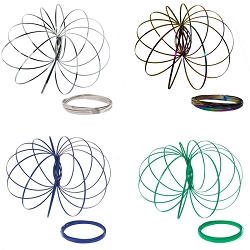 Kinetic Koil - Arm Spinning Toy 4 Pack
