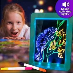 Disco Scribble - Light-up Sound Activated Drawing Board