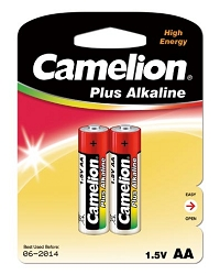 Alkaline AA Batteries 2 Pack