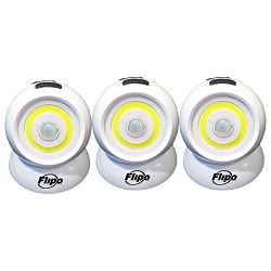 Revolution Motion Sensing COB LED Spotlight 3- Pack
