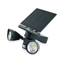 Pacific Accents Solar 2 x 5-Watt COB Spot Light