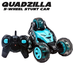 Quadzilla | 5-Wheel RC Stunt Car