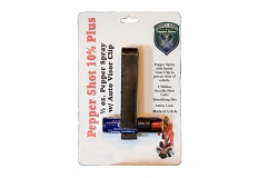 Pepper Spray with Auto Visor Clip