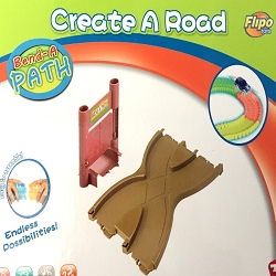 Bend a Path Cross Road Figure Eight Multidirectional Expansion Link with Safari Gate