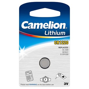 CR1220 3 Volt Lithium Button Cell Battery