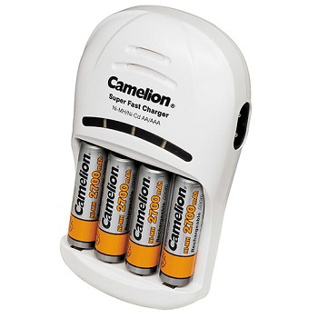 AA Rechargeable Battery Kit
