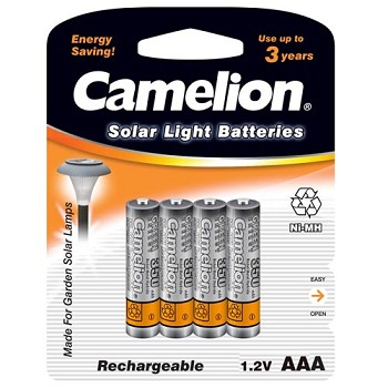 Rechargeable AAA Ni-MH 350mAh Batteries 4 Pack
