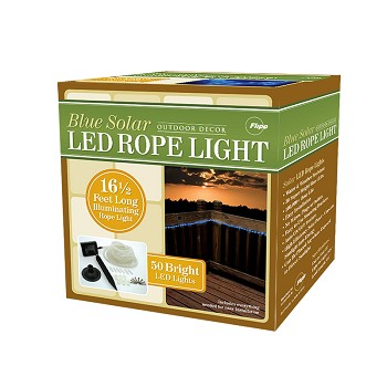 Solar Rope Lights 50 LED Packaging