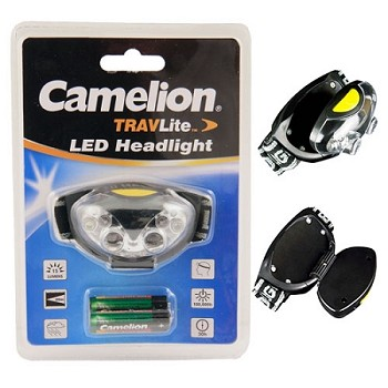 4 LED Head Lamp with 2 Red LEDs