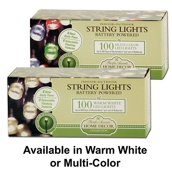 Battery Operated String Lights 100 LED